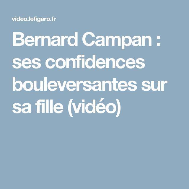 Bernard Campan : ses confidences bouleversantes sur sa fille (vidéo)