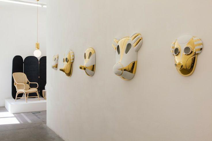 Maschere alle pareti Si chiama Maskhayon la collezione di maschere da appendere, una tendenza che si conferma sempre più, disegnata da Jaime Hayon per Bosa che riproducono animali immaginari