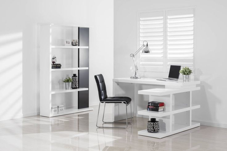 STRATTEN Office Desk features a swivel function for 3 different configurations | Super A-Mart #superamartpin2win