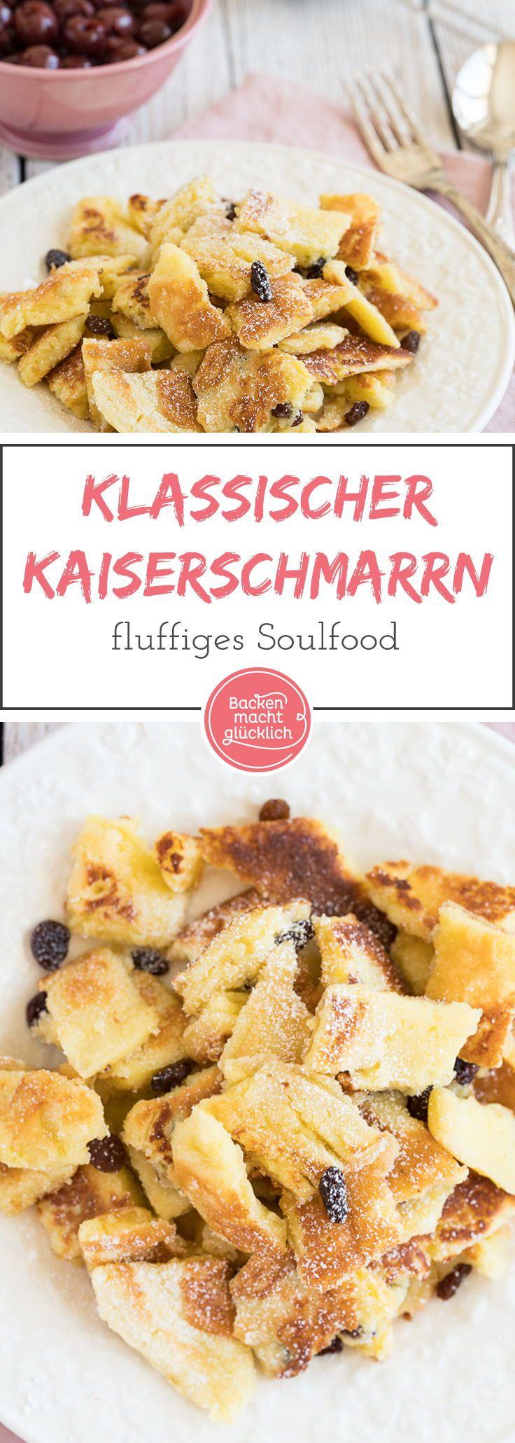 Kaiserschmarrn ist eine der bekanntesten österreichischen Süßspeisen und echtes Soulfood für daheim: Dieser schnelle Kaiserschmarrn ist herrlich fluffig und zergeht auf der Zunge!
