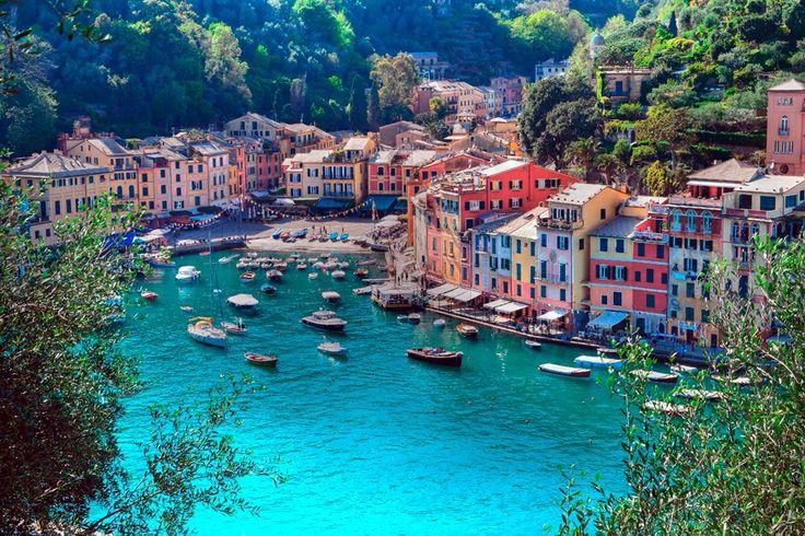 イタリア ポルトフィーノの風景画像