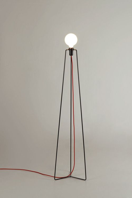 Anonymous; Powder-Coated Metal 'Model' Floor Lamp by Grupa Products, 2012.