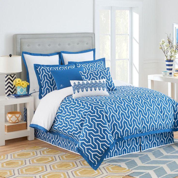 jill rosenwald plimpton flame blue comforter set by westpoint home 1c03523