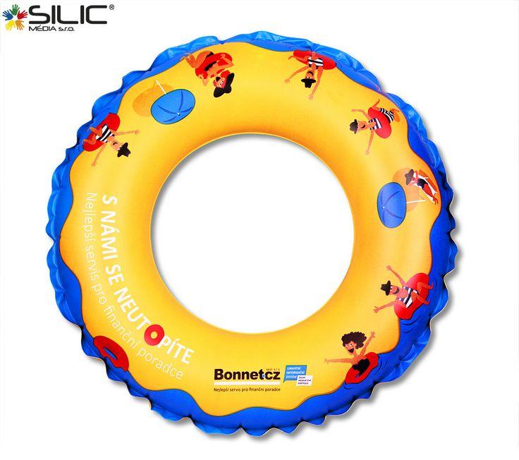 Reklamní nafukovací kruh