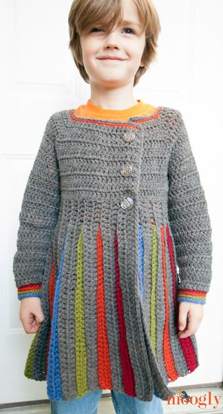 Free Pattern: Eloise Girls Sweater - now for big kids! LOVE LOVE LOVE this sweater. Pattern for baby, toddler and big girl