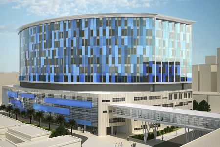 Al Amiri Hospital Project Kuwait   Collaborazione di STEAV Srl con Studio Altieri SpA per lo sviluppo in BIM del progetto esecutivo dell'ampliamento del complesso ospedaliero