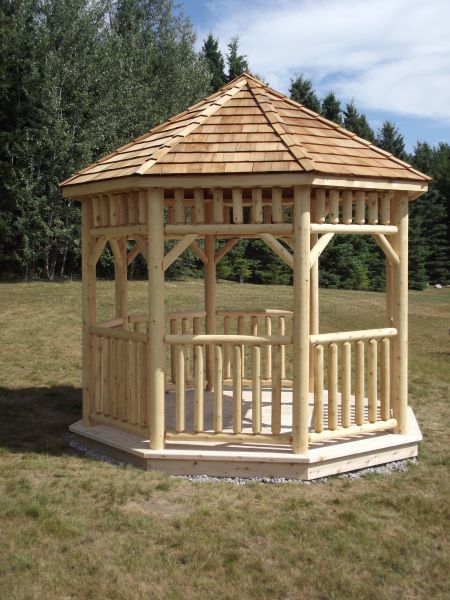 17 best images about gazebo kits and hot tub shelters on for Built in gazebo