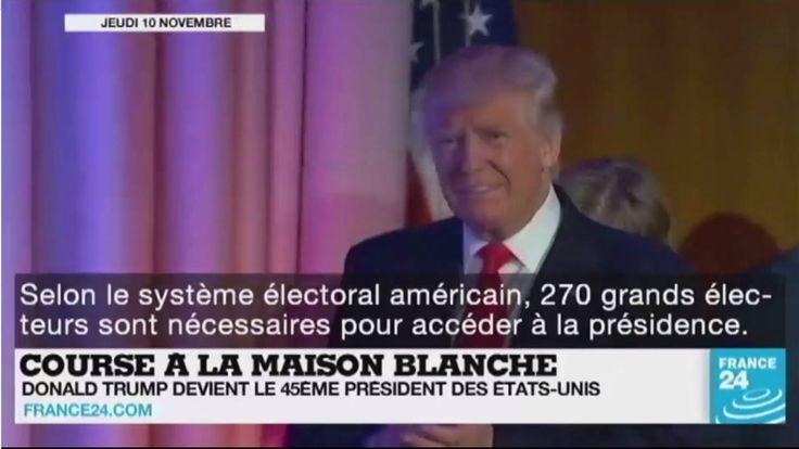 Le monde réagit à l'élection de Donald #Trump à la Maison-Blanche, bataille de #Mossoul en #Irak, guerre en #Syrie... Le point sur l'actualité en VIDÉO