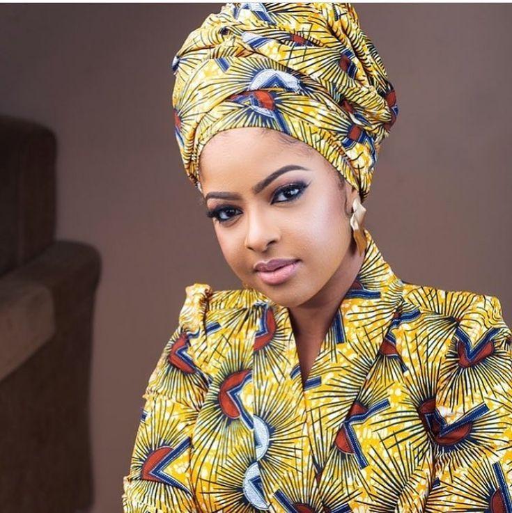 2019 Lovely Ankara Headwrap styles Beauté noire Mode