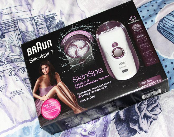 Braun Epilierer Silk-épil Skin Spa 7  http://www.talasia.de/2015/04/25/braun-silk-pil-skin-spa-7-inkl-verlosung/