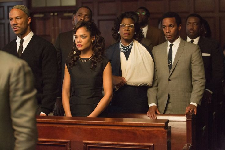 Lorraine Toussaint, Wendell Pierce, Common, Tessa Thompson, and André Holland in Selma (2014)