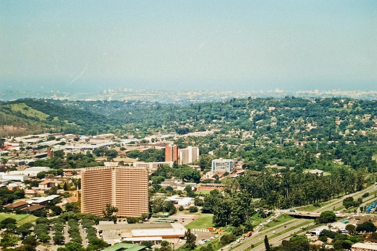 Pinetown from the air