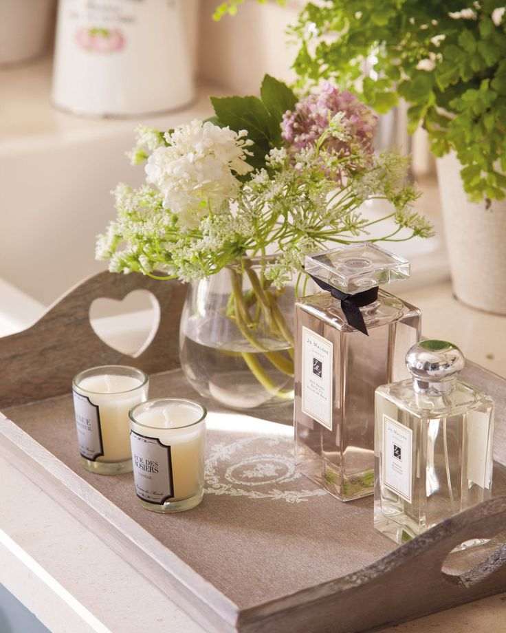 Stimulates Senses | Scented candles of Maisons du Monde and scents of Jo Malone.