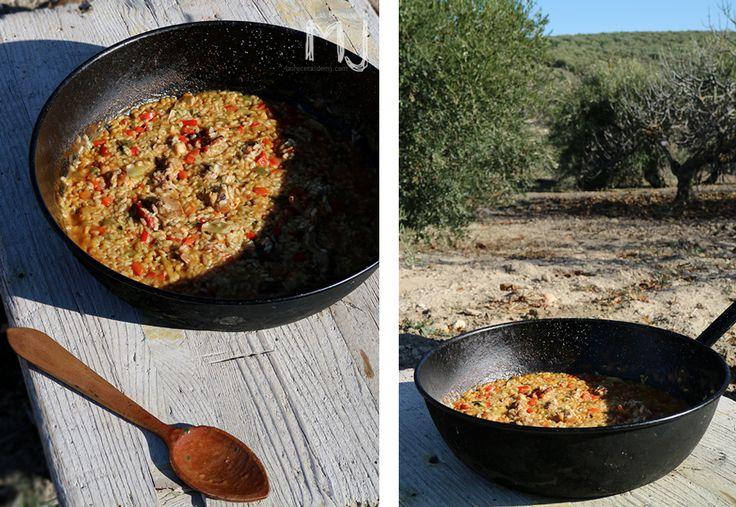 Arroz campero con conejo / Rabbit with rice
