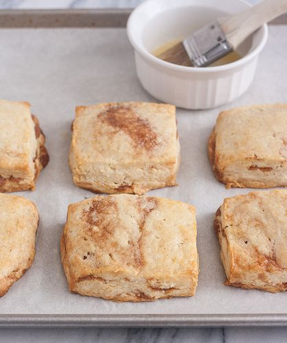 Cinnamon Honey Scones - thomas keller