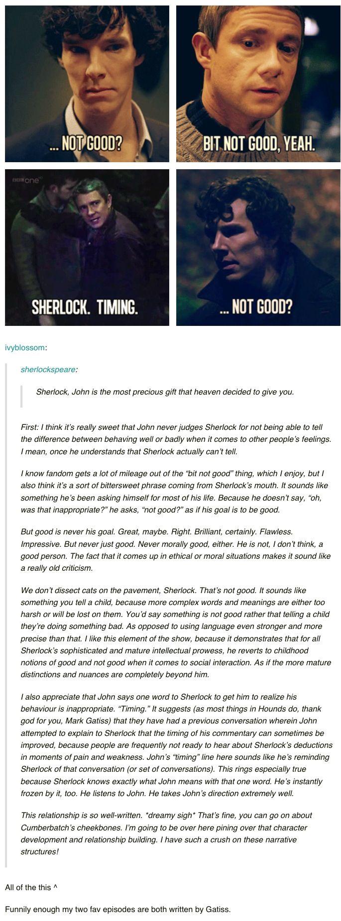 John And Sherlock Love