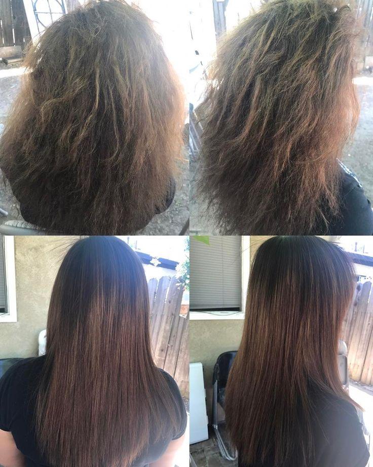 Brasileños permanentes de pelo! El antes y después de esta mujer y su pelo ������ #brazilianblowout #longlasting #beforeandafter #changeisgood #straighthair #hairdo #hairdone #hair #smoothandsilky #longhair #amazinghair #cosmetology #cosmetologist #stockton #california #hairstyling #hairartist http://tipsrazzi.com/ipost/1505609018462488770/?code=BTk_2zcFMjC