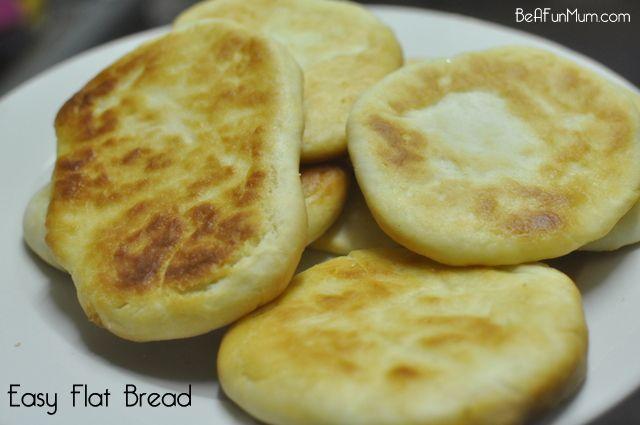 Easy Flat Bread Recipe