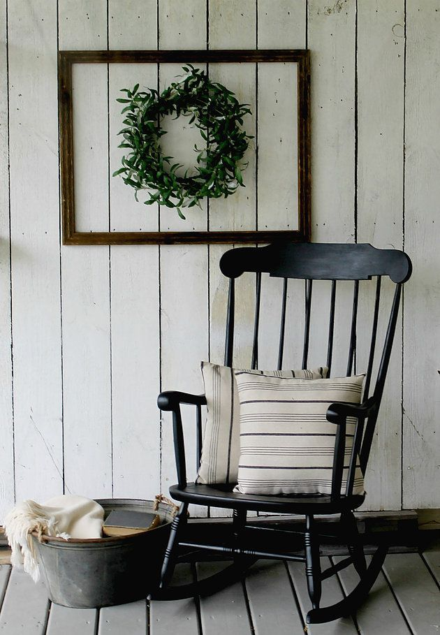 Get the Fixer Upper Look from Rust and Relics LLC with this Farmhouse Style Rocking Chair!! http://www.rustandrelics.net
