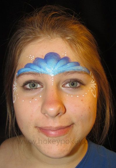 Tag Face Paint | Home / Face Painting / Split Cakes / TAG One Stroke / TAG Dolphin 1 ...