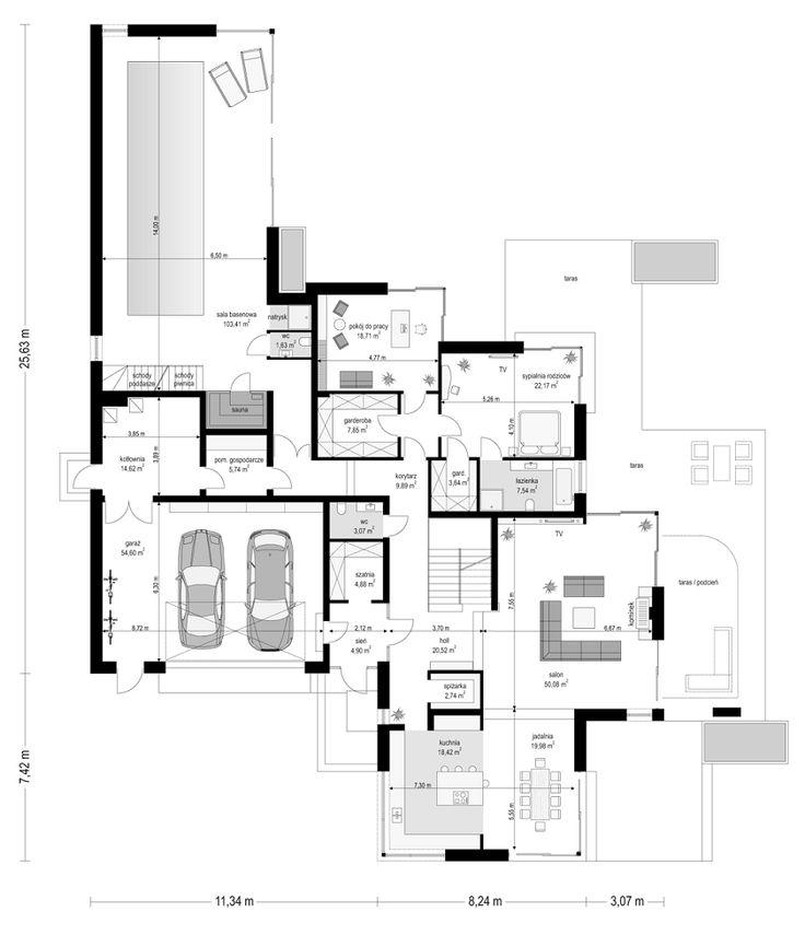 projekt-domu-rezydencja-z-widokiem-rzut-parteru