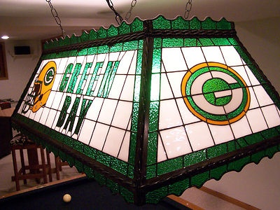 Green Bay Packer Stained Glass Pool Table/Rec Room Light | Glass pool Packers and Pool table & Green Bay Packer Stained Glass Pool Table/Rec Room Light | Glass ... azcodes.com