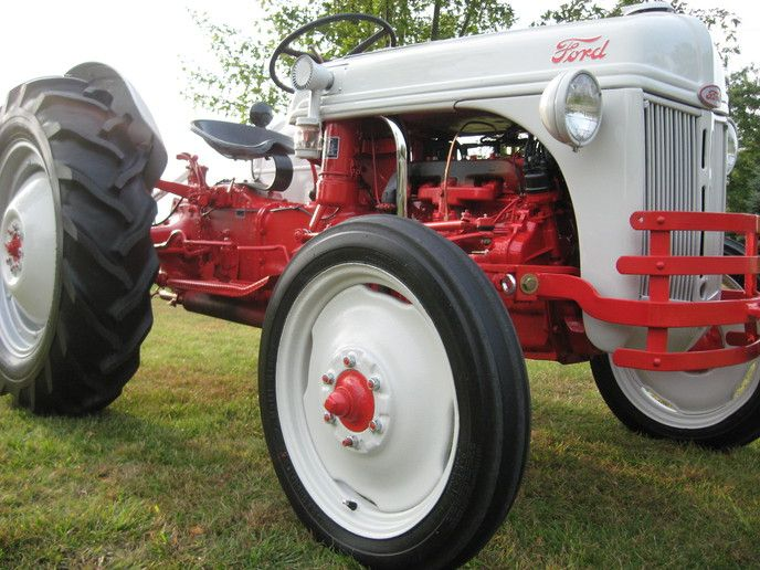 356 Best Images About Ford Tractor On Pinterest