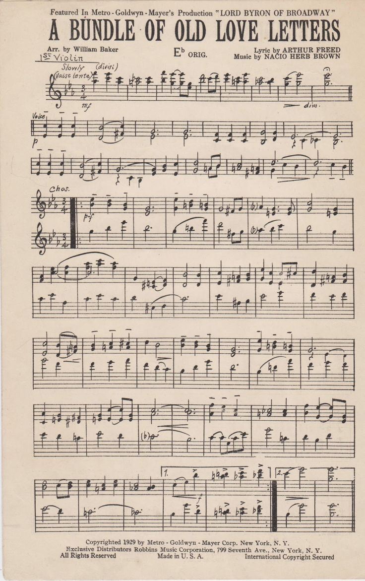 Best 20 Vintage Sheet Music Ideas On Pinterest