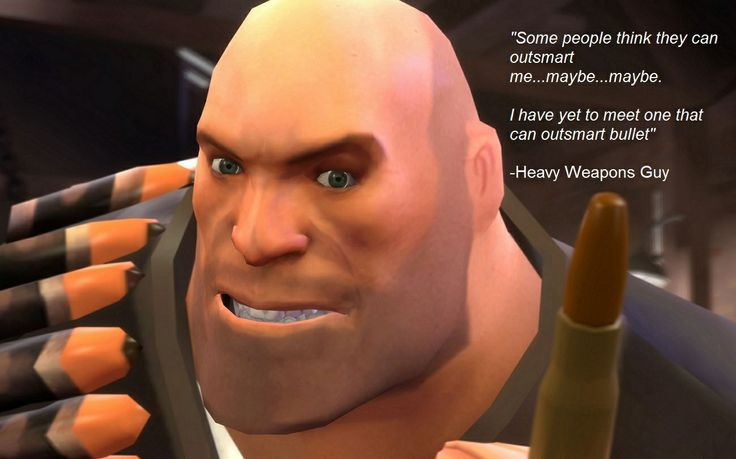 team fortress 2 meet the heavy bullet