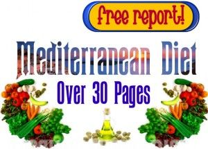 The Mediterranean diet is the healthiest diet in the world. If you're curious you might want to look at this report.  Just click the image to be taken to where you can get the report.  This article also has a really good Mediterranean diet food list. #Mediterranean diet #weightloss