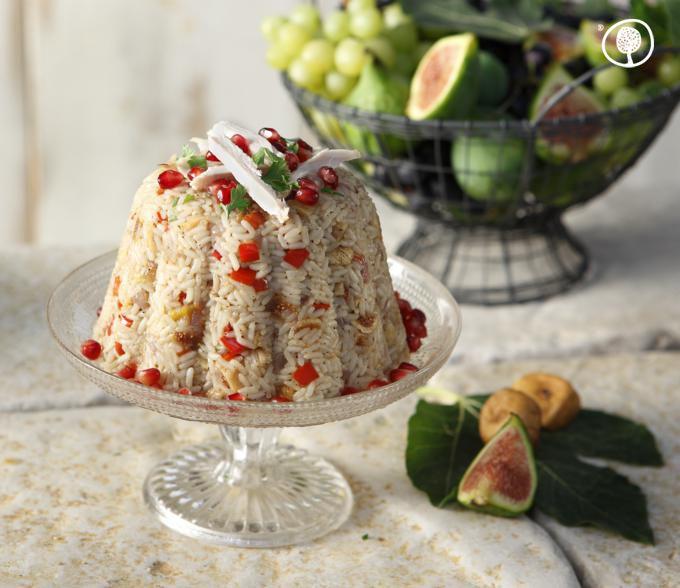 Thursday recipe: Dried figs and pomegranate pilaf! #yolenisrecipes
