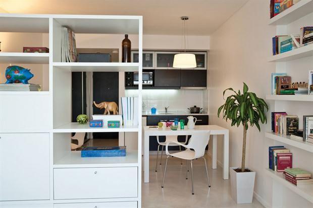 Claves para aprovechar el espacio en tu monoambiente  Foto:Archivo LIVING
