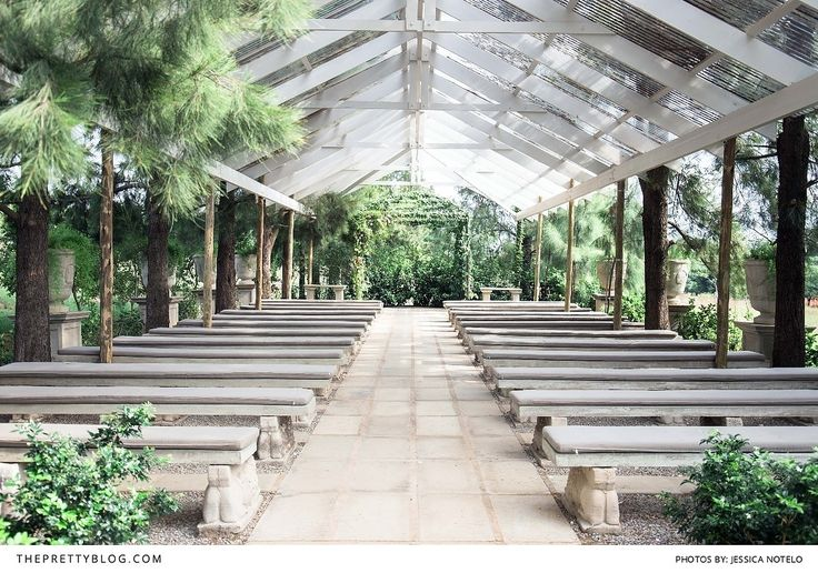 Modern and Simple Wedding Venue with natural Greenery | Photography by Jess Notelo | Venue The Forum