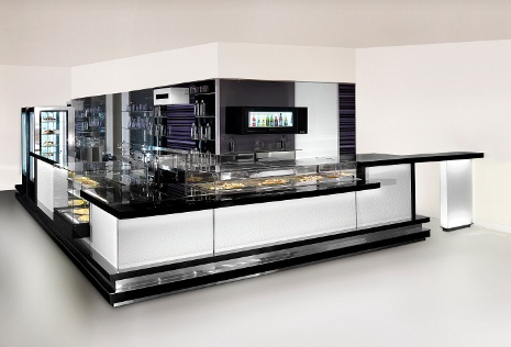 Cristalbar Fashion by ISA. #interior #arredamento #bar #pub #pasticcerie www.isaitaly.com