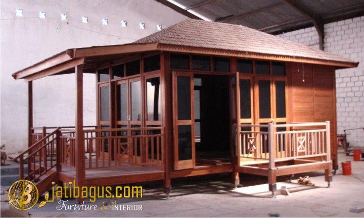 Rumah Kayu Minimalis Modern PanggungRumah Kayu Minimalis