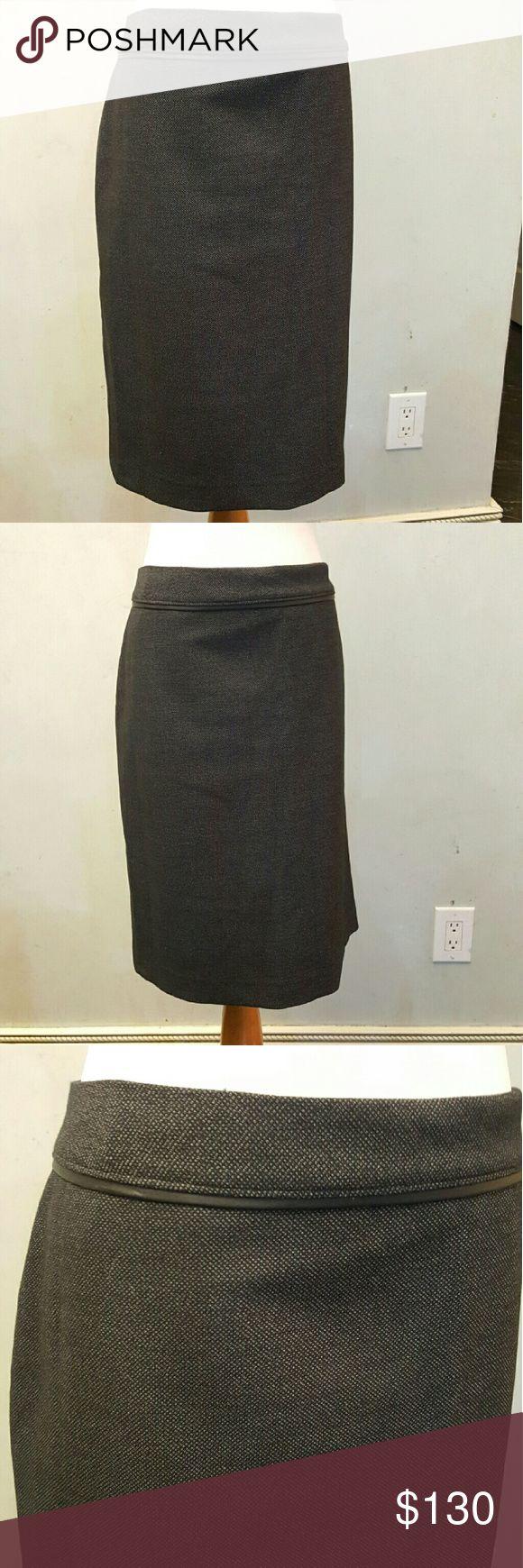 NWT Tahari black skirt Black knee length Tahari skirt. Brand new with tags. Tahari Skirts Midi