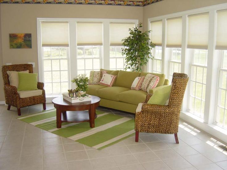 Lovely Indoor Sunroom Furniture Ideas