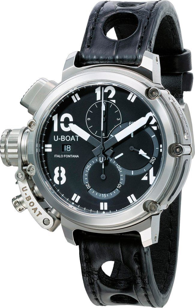 U-Boat Watch Chimera Sideview Limited Edition #add-content #basel-17 #bezel-fixed #bracelet-strap-alligator #brand-u-boat #case-material-steel #case-width-46mm #chronograph-yes #date-yes #delivery-timescale-call-us #dial-colour-black #gender-mens #limited-edition-yes #luxury #movement-automatic #new-product-yes #official-stockist-for-u-boat-watches #packaging-u-boat-watch-packaging #price-on-application #style-dress #subcat-chimera #supplier-model-no-8013…