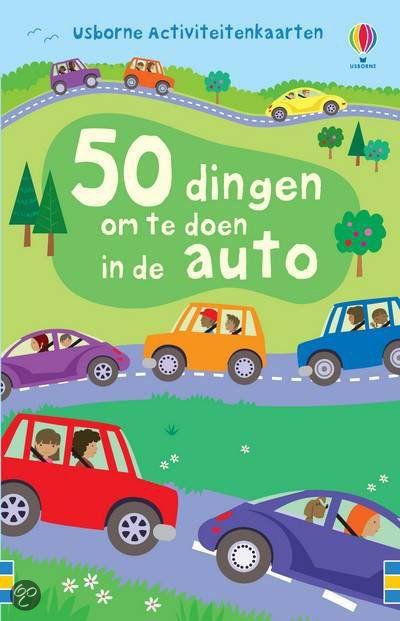 50 dingen maken in de auto: vaakantie