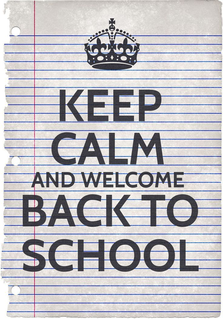 Keep Calm Adn Welcome Back To School -  Poster Freebie http://blog.whiterabbitstudio.fr/keep-calm-and-welcome-back-to-school/