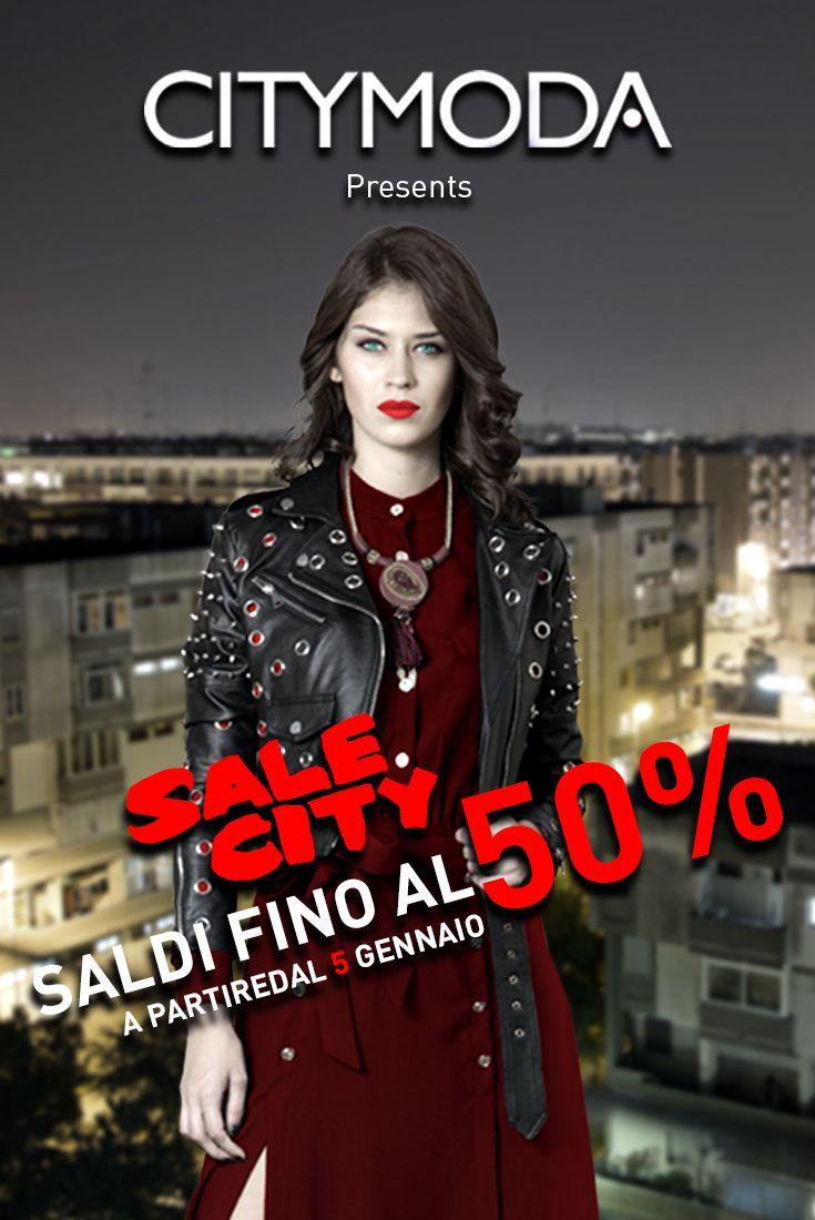 Hai voglia di #shopping sfrenato? A partire dal 5 gennaio corri nei nostri #store, ti aspettano i #saldi #CityModa! Affrettati e non farteli sfuggire! #Fashionaddicted #Fallwinter #Sale