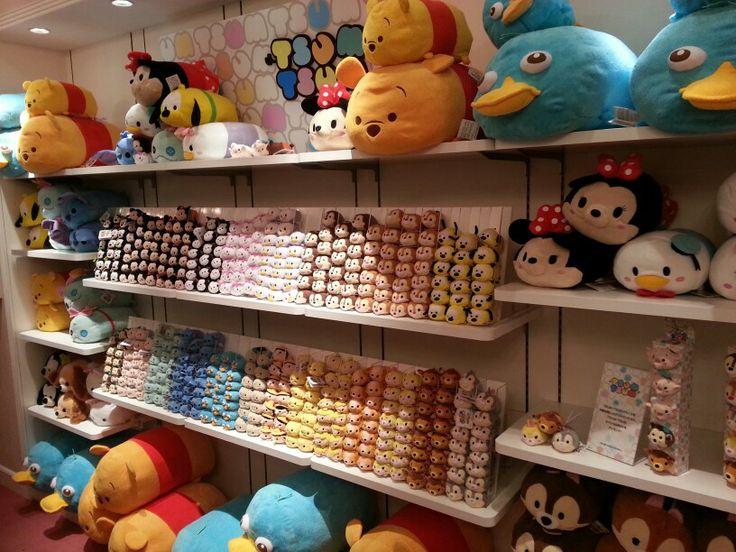 Mengunjungi Disney store Dewasa di Harajuku, Tokyo