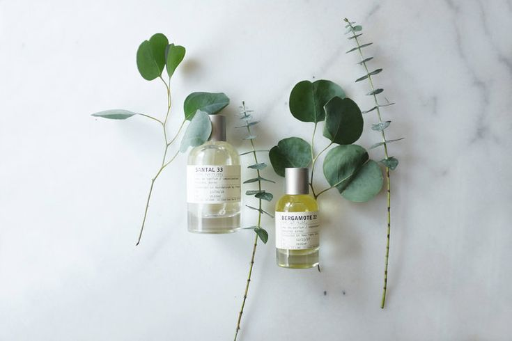 Santal 33 and Bergamotte 22 from Le Labo