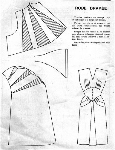 the 1950s- 1951 dress pattern | Flickr - Photo Sharing!
