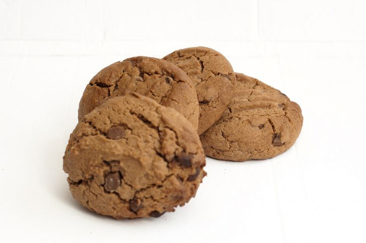 Double chocolate biscuits