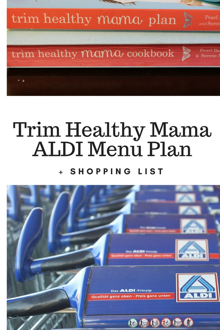 A no special ingredient Trim Healthy Mama plan that you can follow using items that are ALL found at your local ALDI!