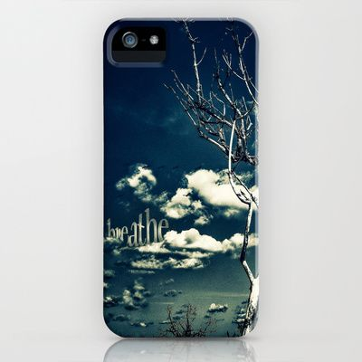 """BREATHE"" iPhone & iPod Case by Steffen Remter  - Check out and love: http://society6.com/balticlapse +++ Follow the artist on G+: http://www.google.com/+RemterDE +++ #nature #photography #photo #manipulation #quotes #words #breathe #graphic #design #typography #tree #sky #clouds #blue #toned #contrasts #society6 #remter #balticlapse #art #print #pillow #tshirt #mug #mobile #case #iPhone #iPad #iPod #artist @Society6 @Baltic Lapse"
