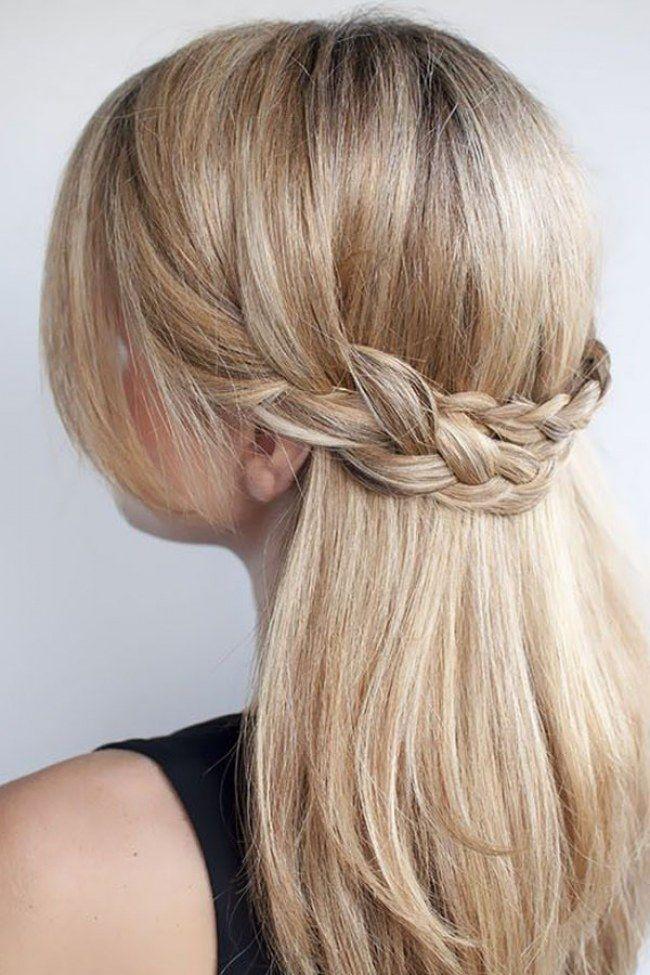 wiesn frisur lange haare