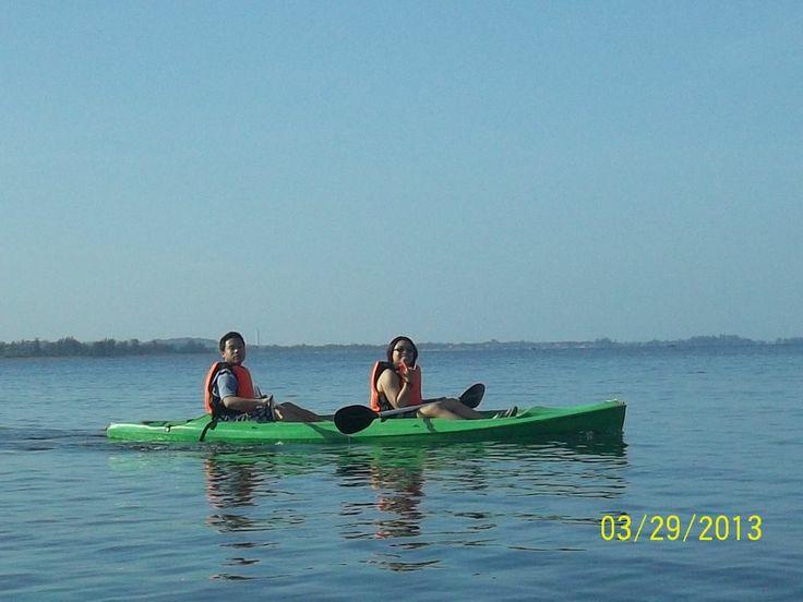 Kayaking in POTIPOT