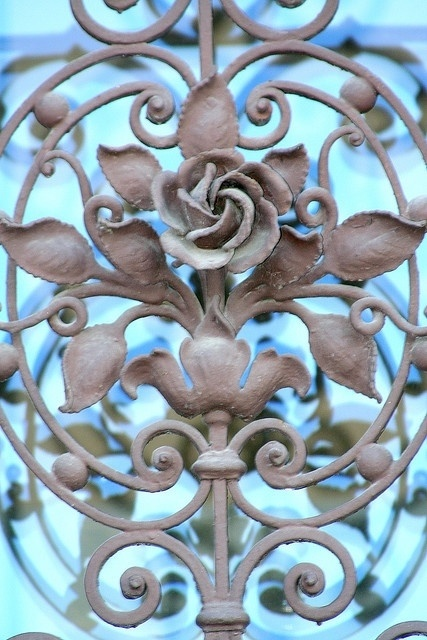 Architectural Details In Iron